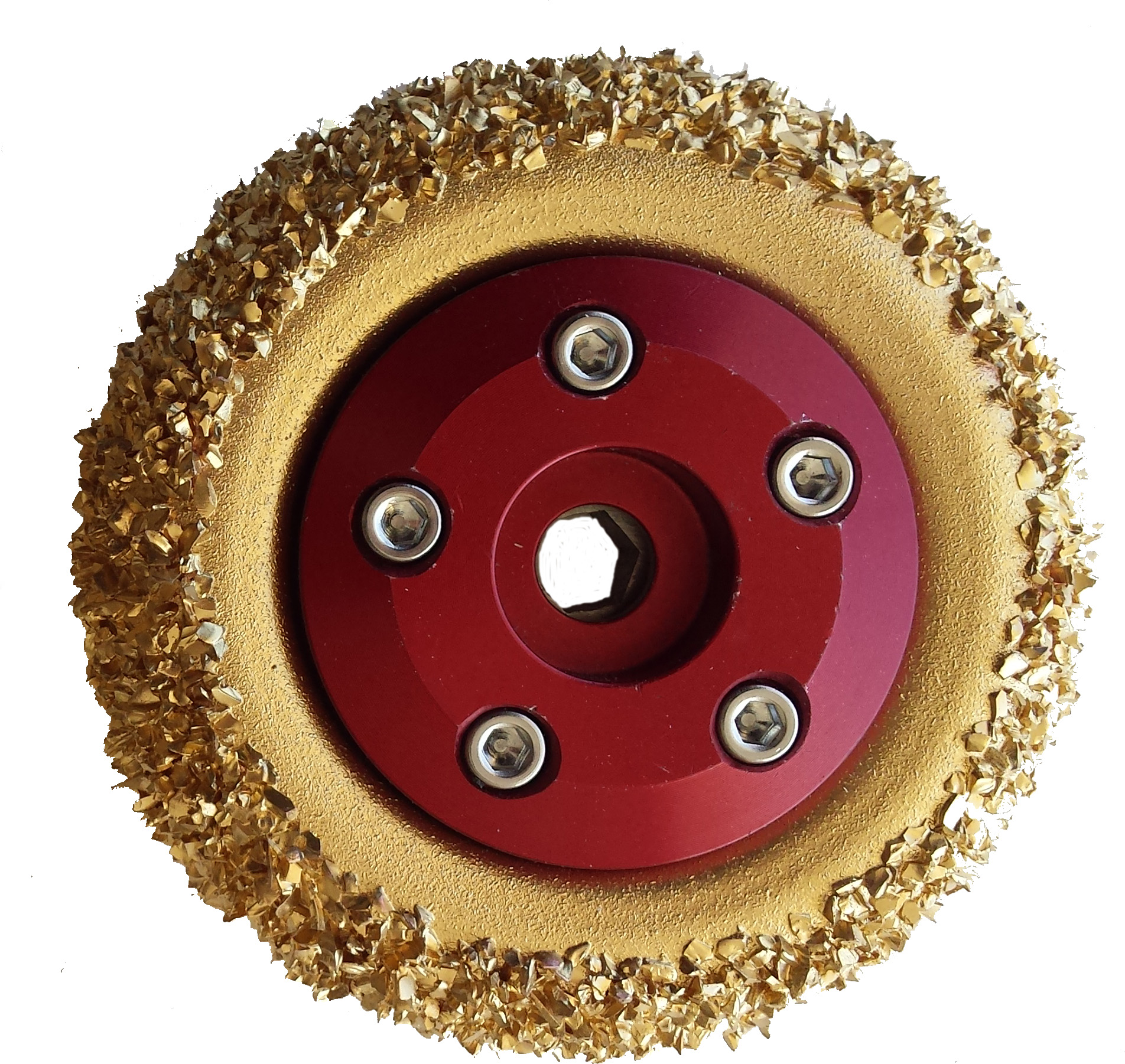 white style 8 In steel carbide grit wheels with hub buy online