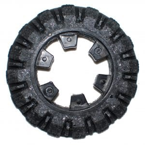 carbide grit camera crawler wheel