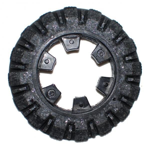 carbide grit camera crawler wheel by TruGrit Traction