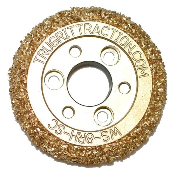 rausch style double sided steel carbide grit wheel buy online