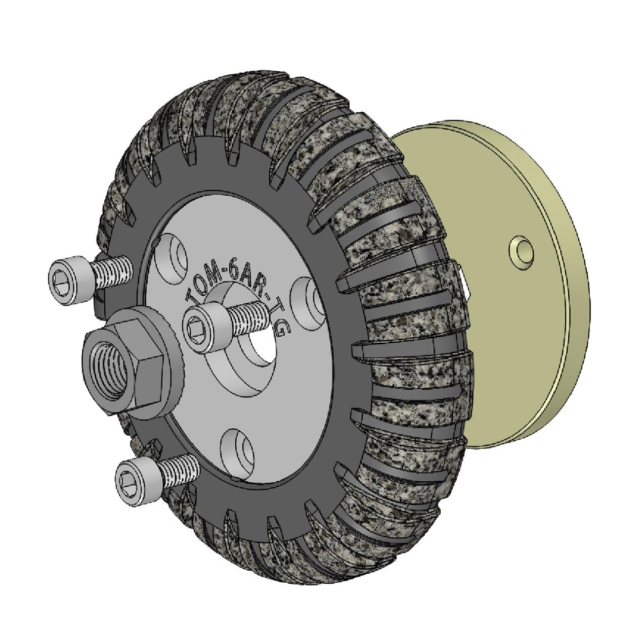 6 in aries wheel style adapter set buy online parts
