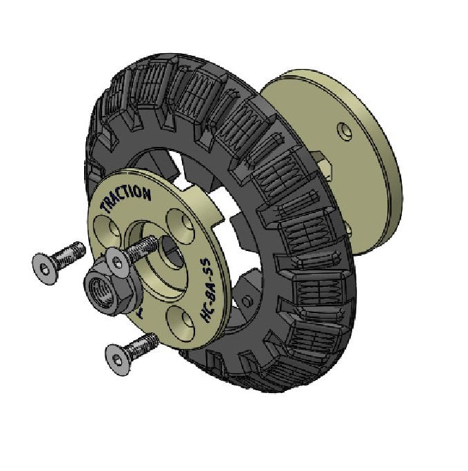 wheel replacement 8 inch tg buy online parts
