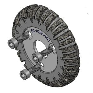 Sewer Camera Transporter Wheel Tru Grit