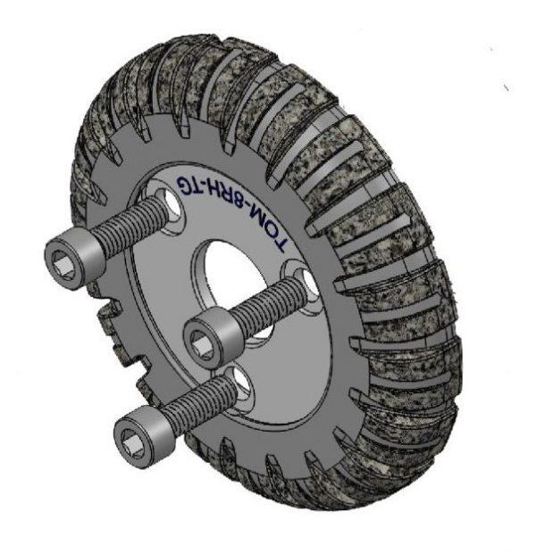 Sewer Camera Transporter Wheel Tru Grit