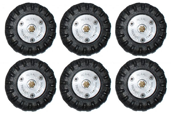 traction wheels for cues