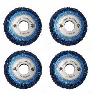 Carbide wheels for IBAK