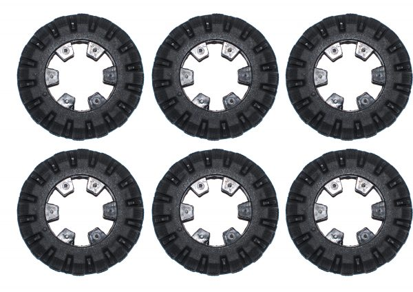 Cues Compatible TPU Non Gritted Wheel Kit