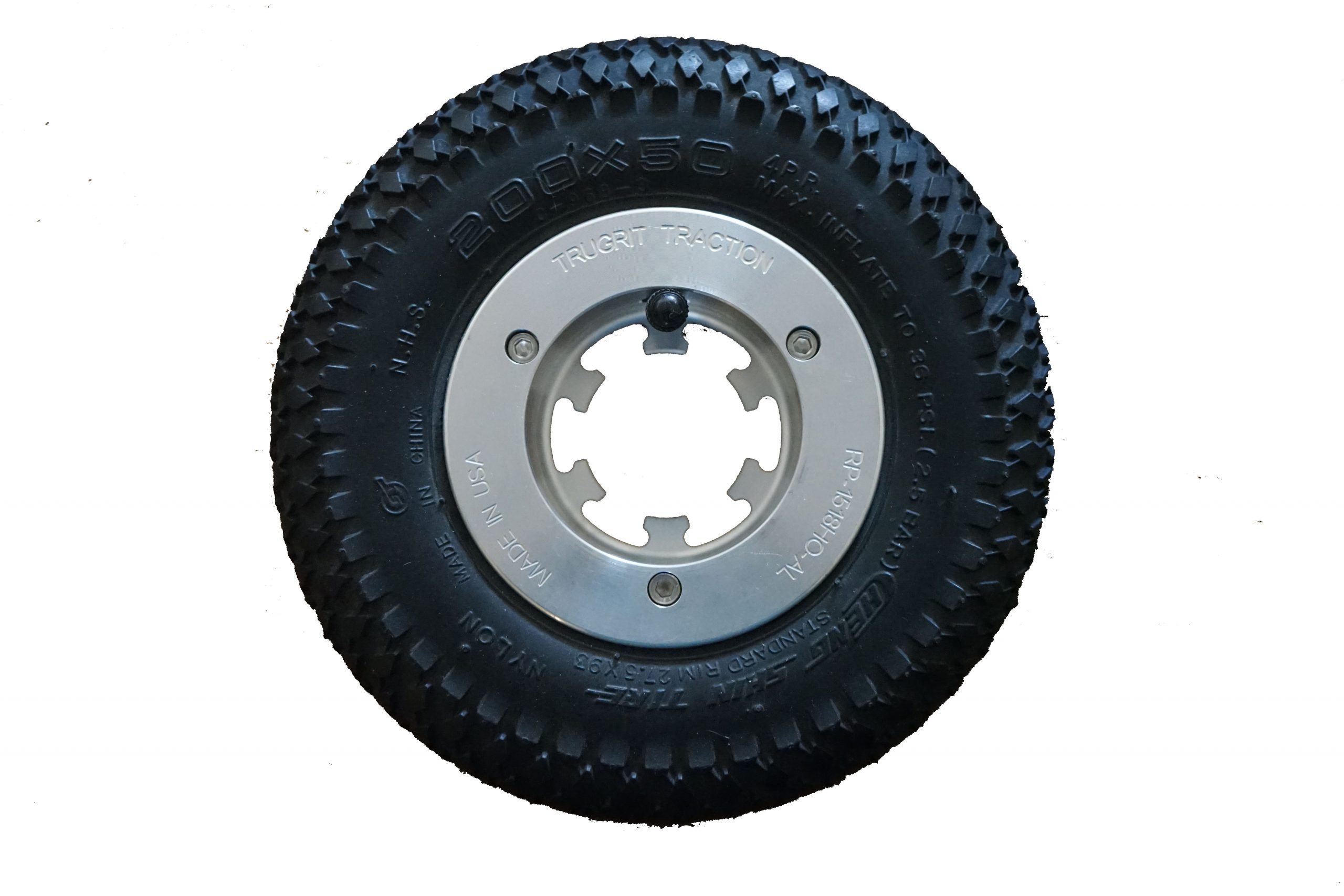 200mm Tires by TruGrit Traction